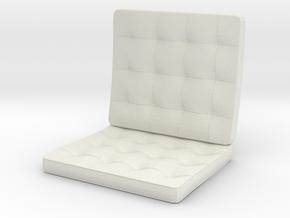 seat_12cm in White Natural Versatile Plastic
