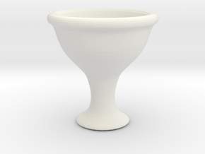 pokal01 5cm hd in White Natural Versatile Plastic