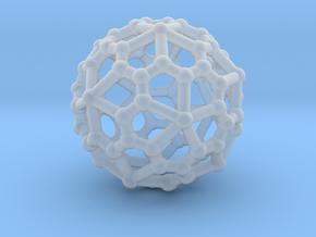 Pentagonal hexecontahedron in Smooth Fine Detail Plastic