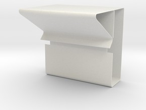 Column and Beam Clip in White Strong & Flexible