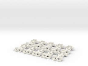 Formula 1 Miniatures - 2011 in White Natural Versatile Plastic