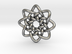 Celtic Knots 05 in Natural Silver