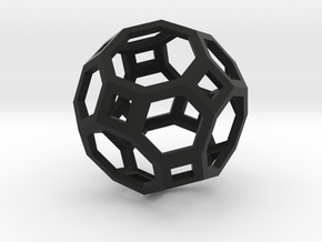 Truncated cuboctahedron in Black Strong & Flexible