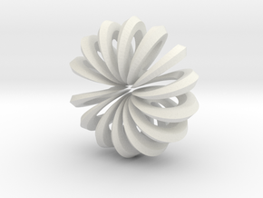spiral_360_002.dae in White Natural Versatile Plastic