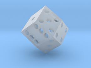 Rhombic die (2.5 cm) in Smooth Fine Detail Plastic