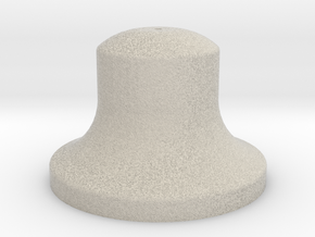 """3/4"""" Scale Bell in Natural Sandstone"""