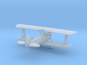 Biplane - Z scale in Frosted Ultra Detail