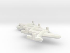 D4Y1 Judy (Triplet) 1:900 in White Natural Versatile Plastic