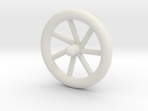 metal top in White Natural Versatile Plastic