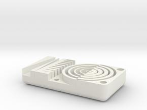 Detail Test, Metric in White Natural Versatile Plastic