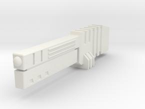 Light Laser - Handheld in White Natural Versatile Plastic