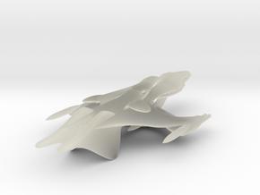 Large Whitestar Prototype in Transparent Acrylic