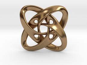 Sphere eversion (big version) in Natural Brass