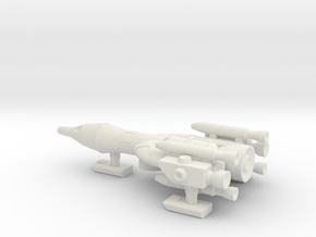 NASC Gemini Falcon in White Natural Versatile Plastic