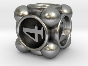 Spore d6 in Natural Silver