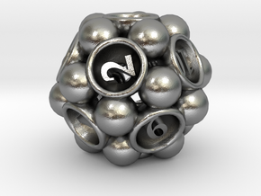 Spore d12 in Natural Silver