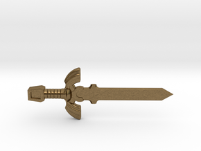 Master Sword in Raw Bronze