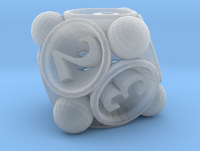 Spore d8 in Smooth Fine Detail Plastic