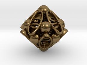 Spore Decader d10 in Natural Bronze