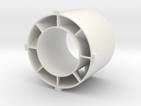 Swirler_v3_01 in White Natural Versatile Plastic