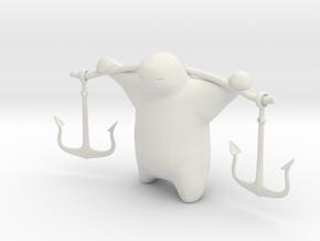 Anchor Guy in White Strong & Flexible