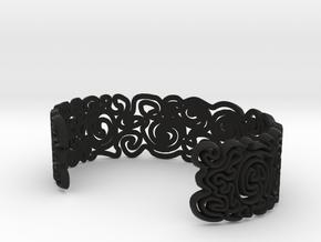 scribble Large in Black Natural Versatile Plastic