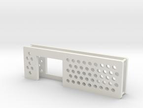 arduino enclosure ends in White Natural Versatile Plastic
