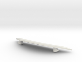 inlay in White Natural Versatile Plastic
