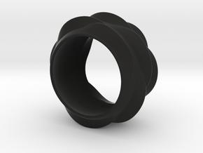 Tree-Ear Light Ring (thinner) in Black Strong & Flexible