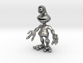 Ato, the Alien in Natural Silver