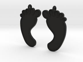 Barefoot Earrings in Black Strong & Flexible