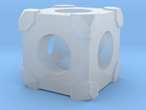 The Cube in Smooth Fine Detail Plastic