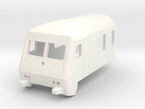 Steuerwagen Wittenberge 1zu220 Spur Z in White Processed Versatile Plastic