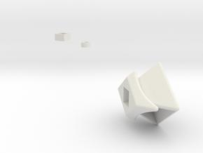 NCFTRD Centers (Print 12) in White Natural Versatile Plastic