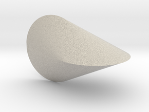 Oloid 2-circle roller (small) in Natural Sandstone
