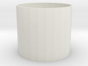 iCup4 in White Natural Versatile Plastic