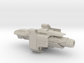 Industrial Space ship in Sandstone