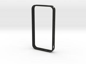 iphone4 bumper MG01 in Black Natural Versatile Plastic