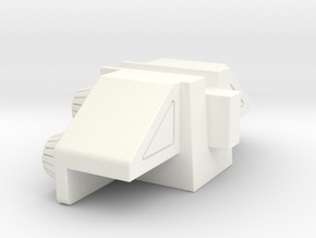 Superion Filler 4 in White Processed Versatile Plastic