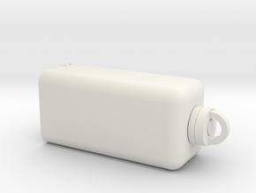 USB Tools Module Bottom in White Natural Versatile Plastic