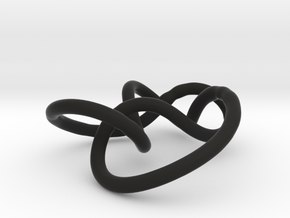 Prime Knot 5.2 in Black Strong & Flexible