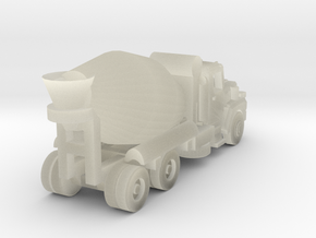 Mack Cement Truck - Open Cab - Z scale in Transparent Acrylic