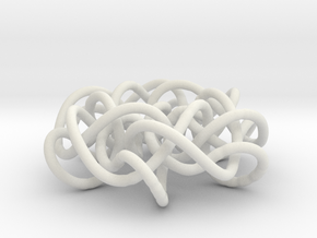 Prime Knot 6.63 in White Natural Versatile Plastic