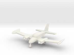 Cessna 310 - Z scale in White Strong & Flexible