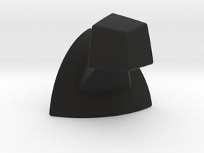 Mini 7x7 Corner (2 of 3) Print 8 in Black Strong & Flexible