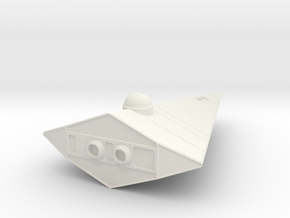 Scout (plain) in White Natural Versatile Plastic