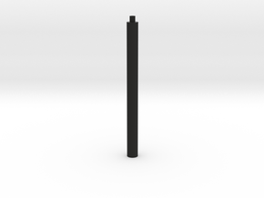 1x1x∞ rods (Print ∞) in Black Strong & Flexible
