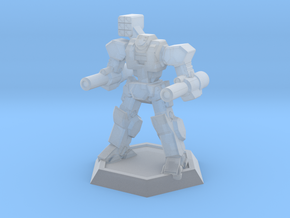 Mecha- Axe (1/937th) in Smooth Fine Detail Plastic