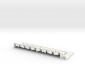 W4K09 Guard Dozer Mk1 in White Natural Versatile Plastic