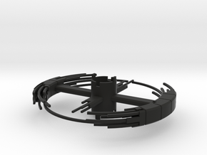 B.Y.O.S.S. Ring Square Construction ver2 in Black Strong & Flexible